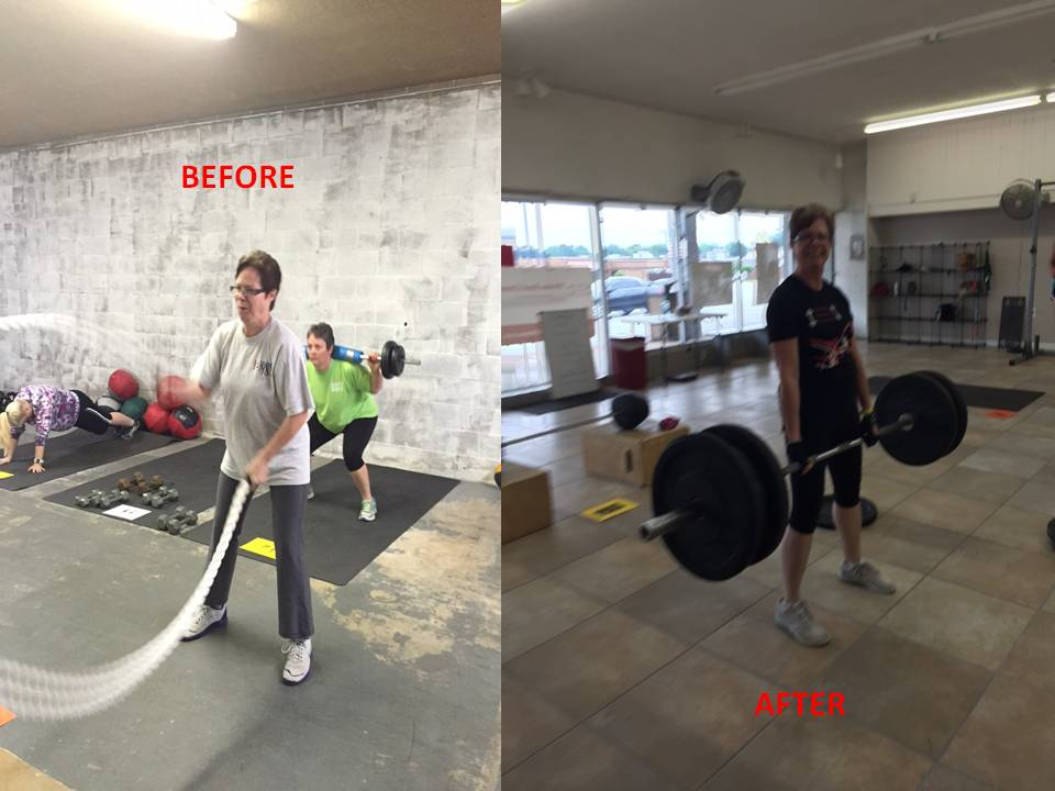 Linda W:  205 lbs is Not Her Weight, It's What She Dead Lifts!