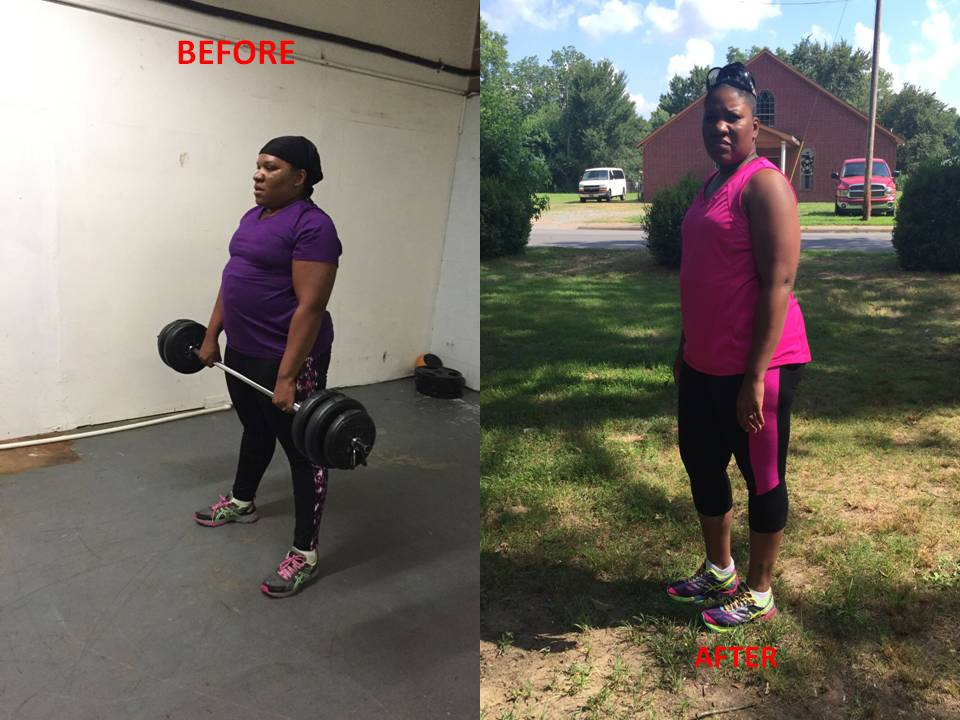 Tosha's Weight Loss Story:  No Scale Measures How You Feel!