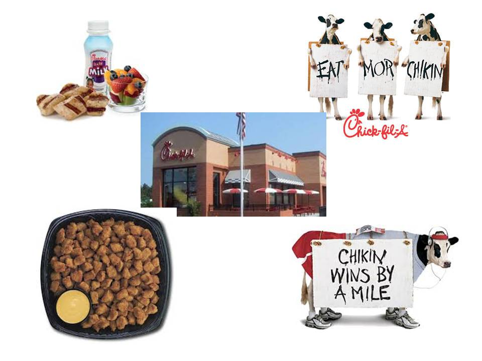 Chic-fil-A:  Never Fear the Chicken!