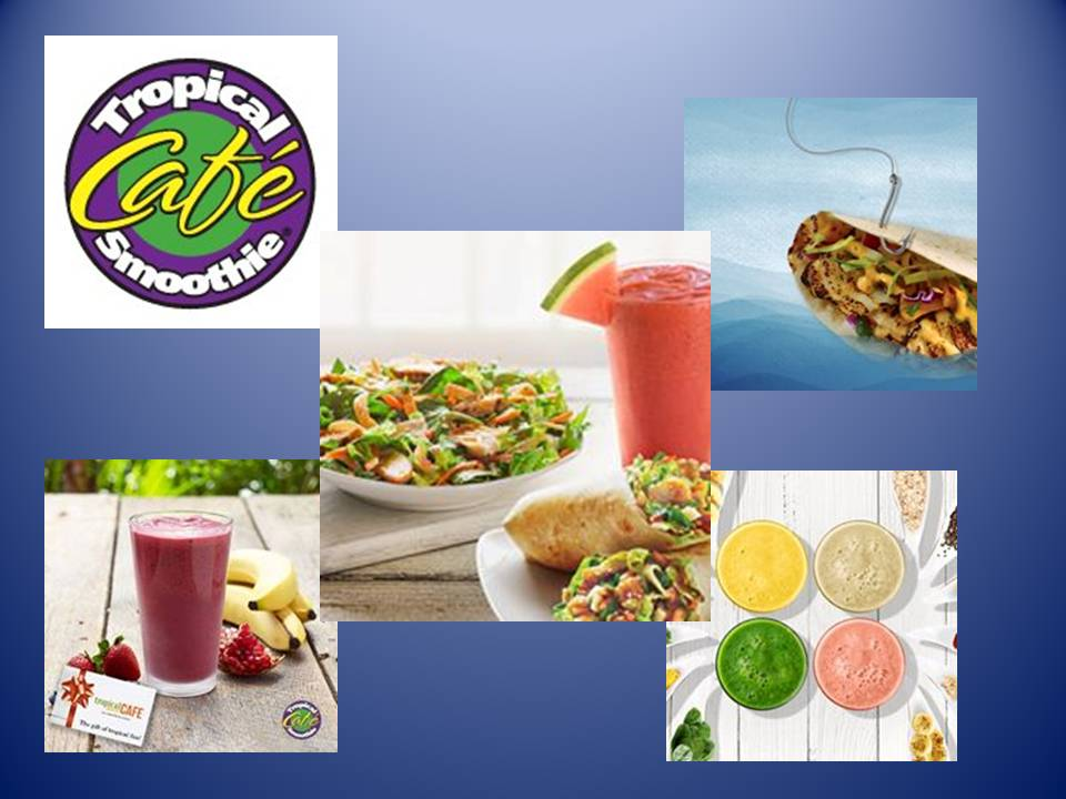 Tropical Smoothie:  Looks Can Be Deceiving!