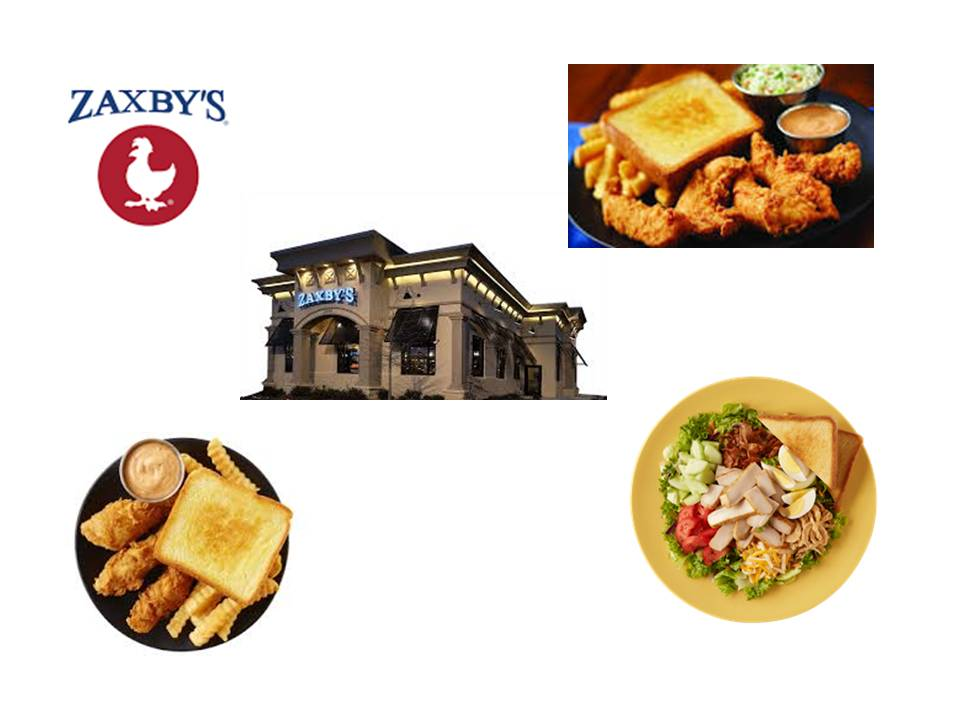 Zaxby's:  Count the Carbs, Not the Calories!