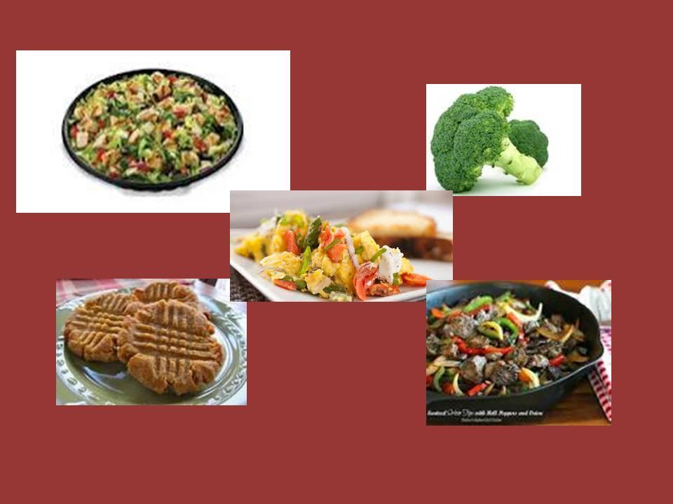 Keto/Low Carb Meal Plan Option 5